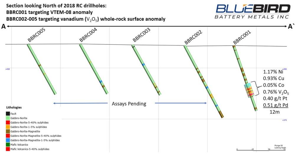 medium resolution of figure 2 rc drillhole section