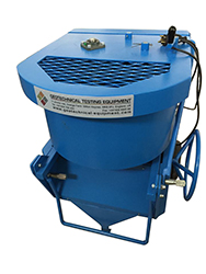 The Concrete Mixer is designed for laboratory use to give efficient mixing of both wet and dry materials.