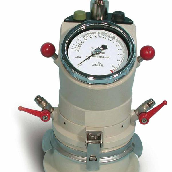 The Air Content Meter for mortar is designed to determine the air content in cemnet mortar, cement paste and lime mortar.