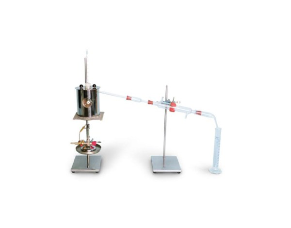 The Distillation of cut-back aphaltic bitumen poduct apparatus is used for the examination the amount of the more volatile constituents in cutback asphaltic products.