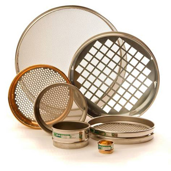 "All test sieves are manufactured to National and International Specificationsand are supplied with a ""Certificate of Compliance"""