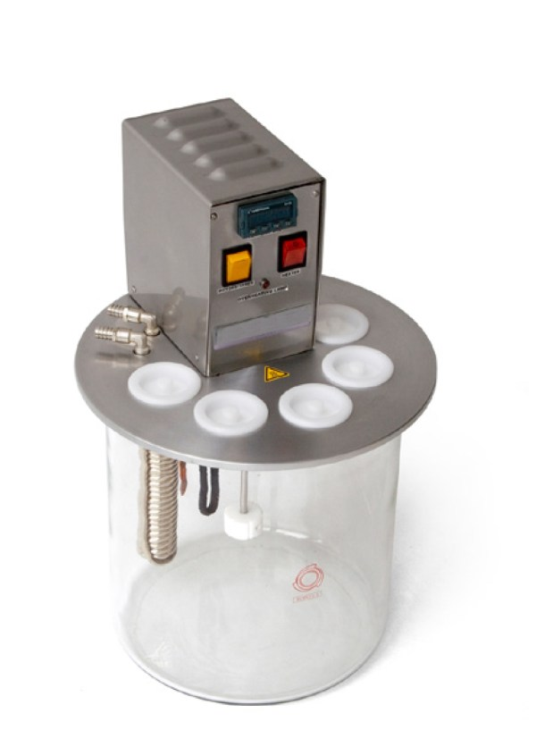 The Digital Viscometer Bath is used for measuring oils viscosity by Cannon-Fenske, Ubbelohde and similar capillary.