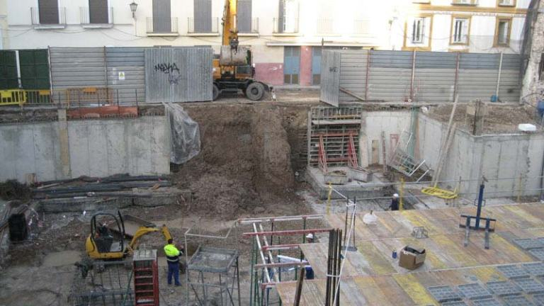 Cálculo condición drenaje taludes excavación