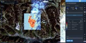 Detección de cambios de imágenes satélite mediante LandViewer