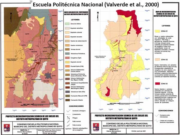 Mapa Geológico de Quito
