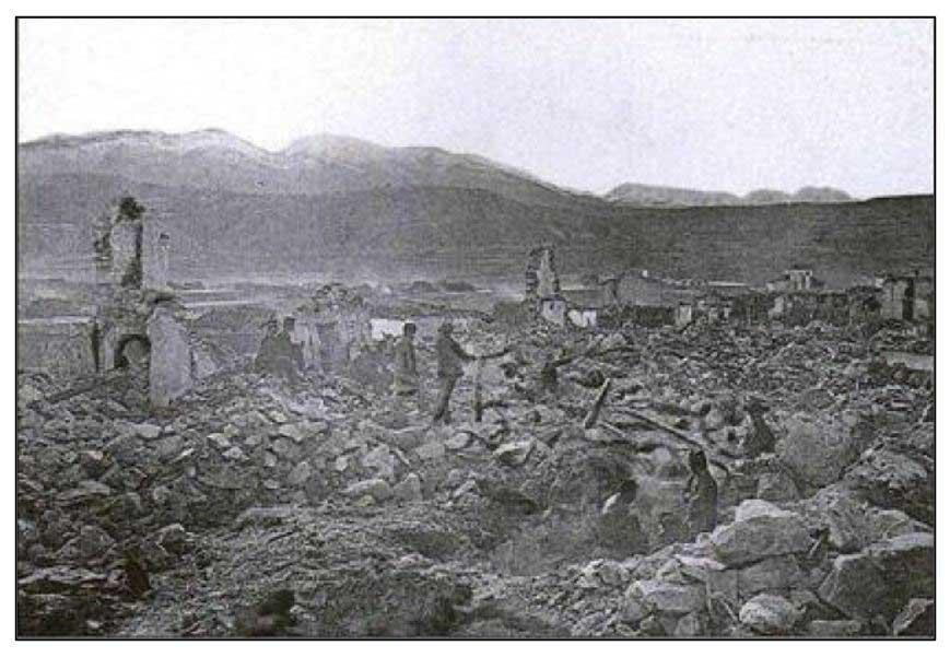 Terremoto Arenas del Rey 1884