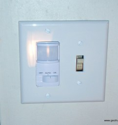 new motion sensor switch installed [ 1024 x 867 Pixel ]