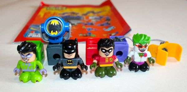 Batman Riddler Robin Joker
