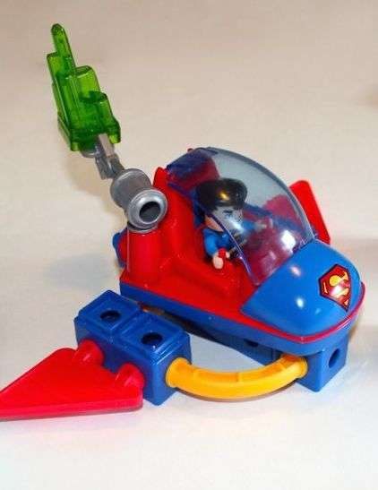 T4448 Superman and Space Sled