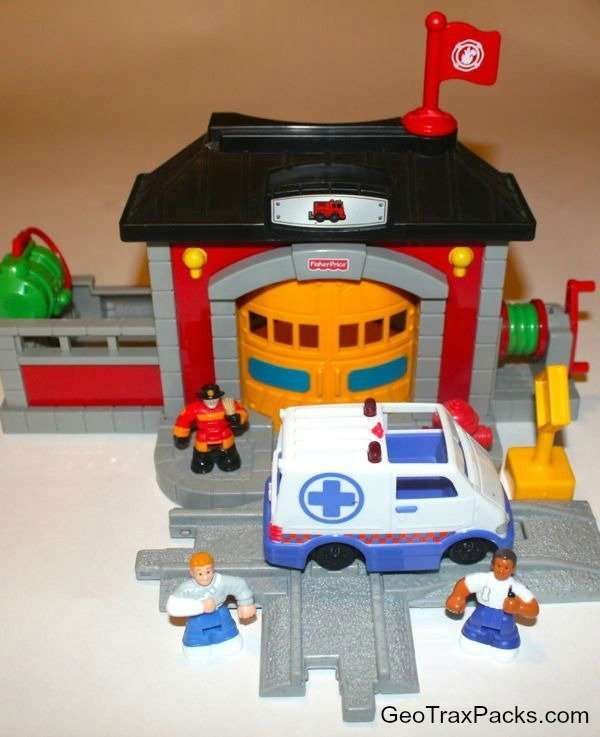 N8343 Fire Station