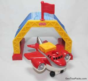 J0225 Red Wing Jet Plane