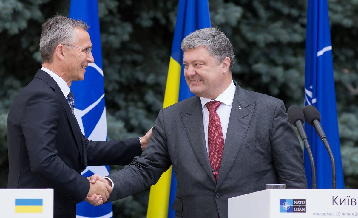 NAVO accepteert Oekraïne als aspirant lid