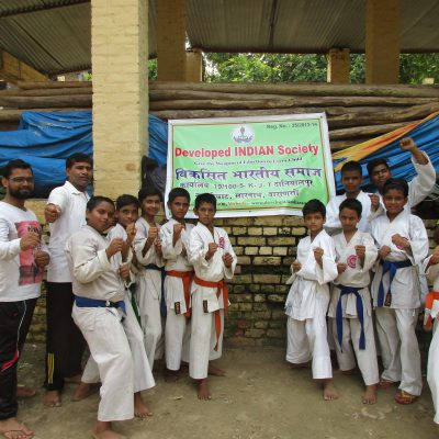 Self Defence organized by Developed INDIAN Society