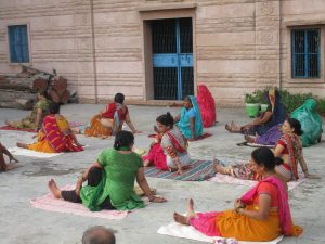 Yoga Class by Developed INDIAN Society