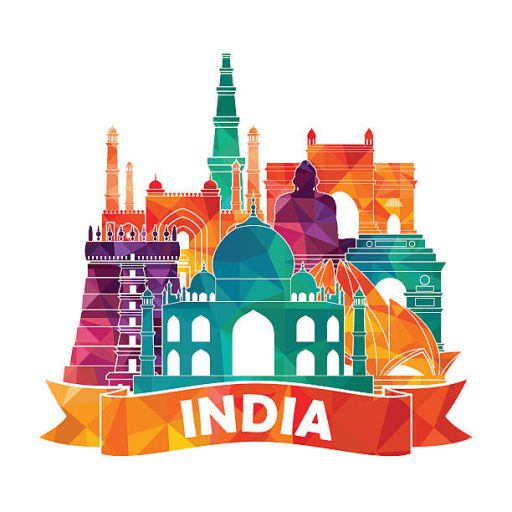 India. Vector illustration