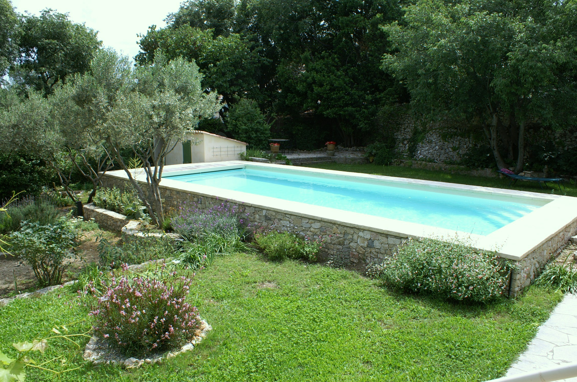Amnagement piscine hors sol lovely amenagement autour d for Photo d amenagement piscine