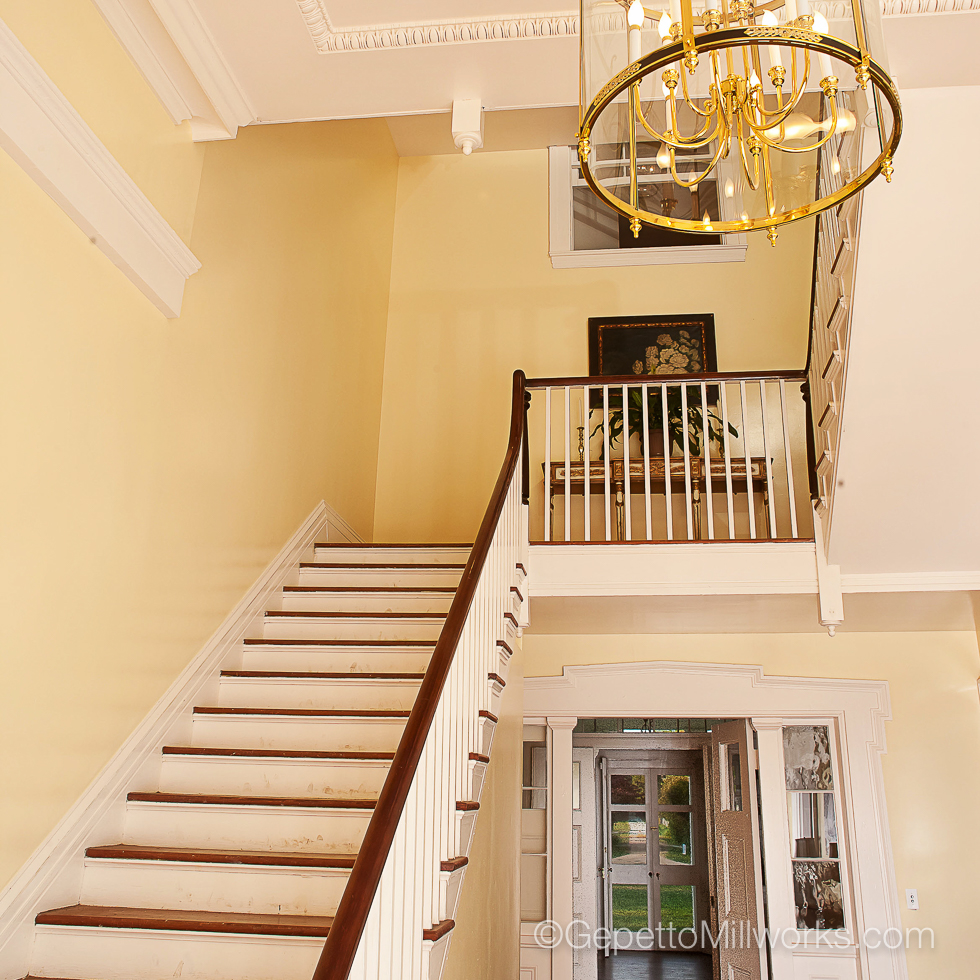 Historic Wooden Staircase Restoration Contractor