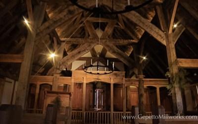 Henricus Historic Park Chapel Construction