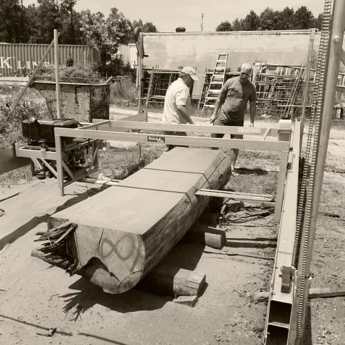Custom Order Live Edge Slab Planks Virginia