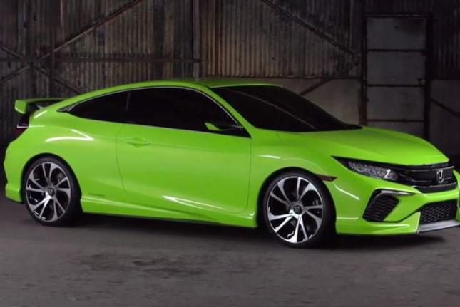 Honda Unveils Sportiest New Civic Design In History