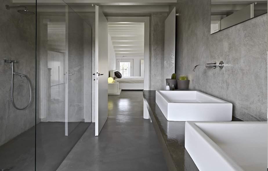 Gepolierde Betonvloer in Badkamer Voorbeelden Advies  Prijs