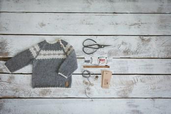 GeraBloga fair isle sweater