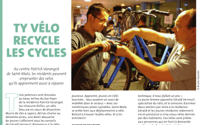 Ty vélo et Gérald Verneuil dans Nous vous Ille