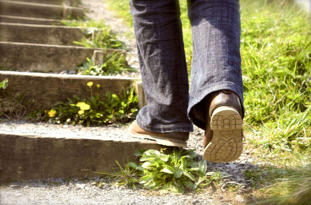 Take the First Step - imanka via Flickr