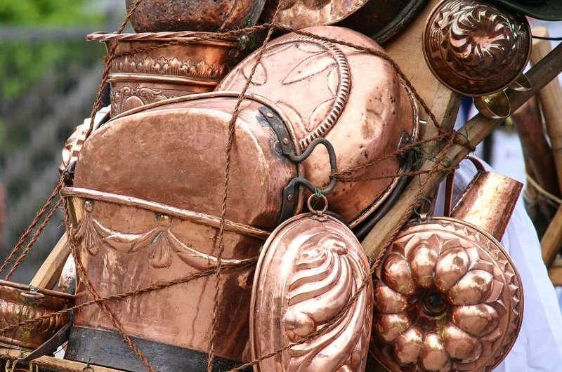 Aneka Lampu Sangkar Tembaga Kuningan untuk Hunian Artistik