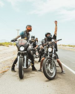 The freedom motorcycles give you