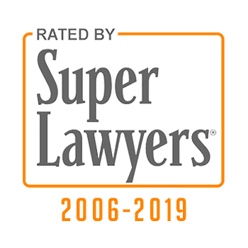 Super Lawyers Badge 2006-2019