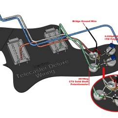 Telecaster Wiring Diagram Mods 7 Wire Trailer Troubleshooting 3972 Deluxe Ri Rewiring Project