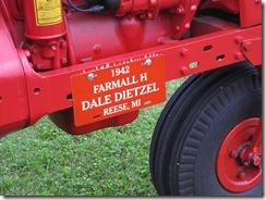 Dale Dietzel Plaque
