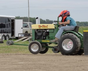 Mini Puller at Gera Tractor Show 2013