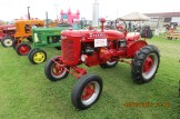 Antique Tractors on display