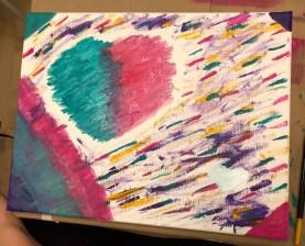 Paint Night Lisa