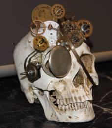 Un crâne customisé par Sanskullartime