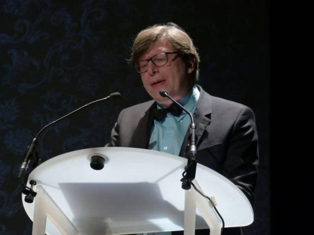 Le critique Philippe Royet