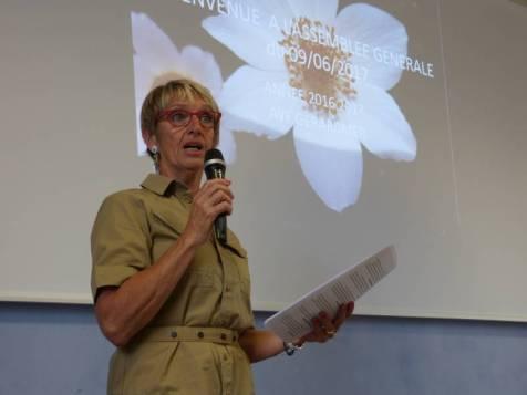 1er bilan de présidence positif pour Michèle Monbelli