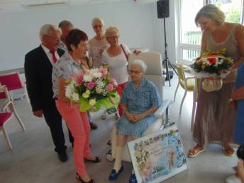 Georgette Thiery 100 ans Ehpad (3)