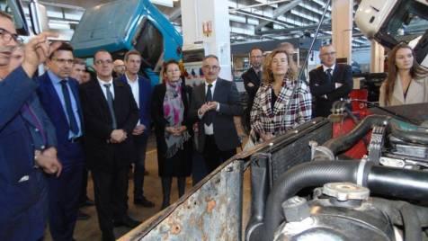 Florence Robine visite Gérardmer lycées (6)