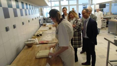 Florence Robine visite Gérardmer lycées (8)