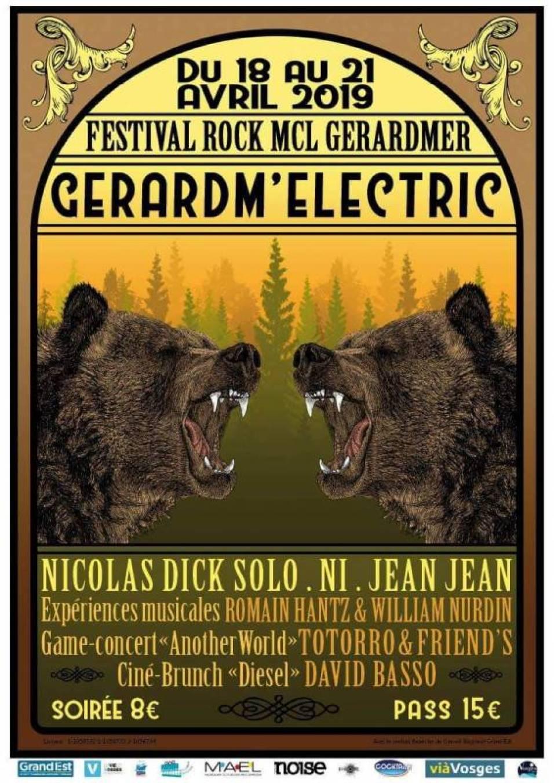 gerardm'electric 2019 affiche