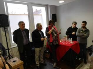 Le palmarès proclamé par Sylvie Douchain accompagnée de Pierre Sachot et Jean-François Duval, chauffeur de salles officiel du festival.
