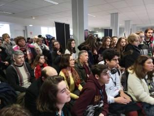 De nombreux participants présents à la remise des prix.
