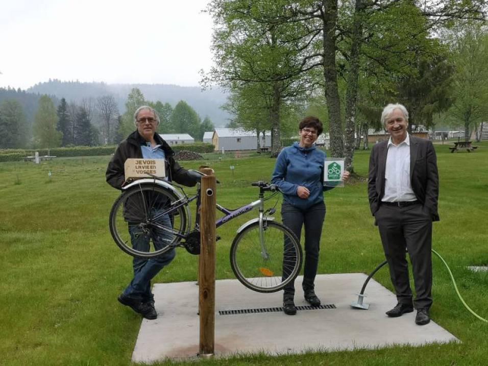 Le camping de Xonrupt est fin prêt à accueillir les amateurs de vélo !!
