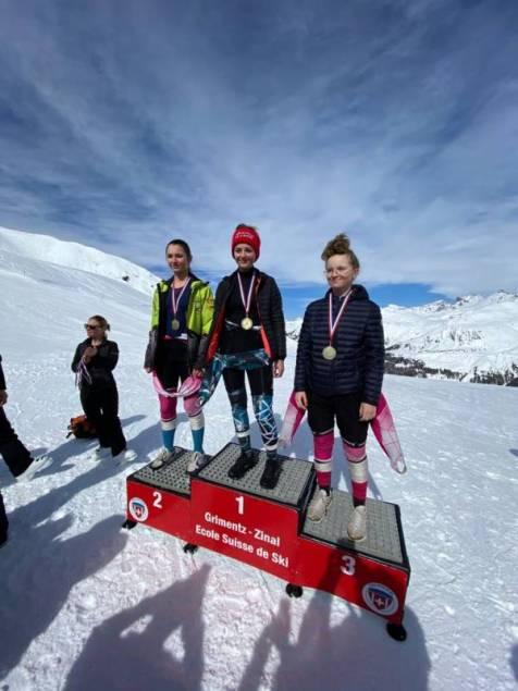 Anna COMINOTTI 2ème U16 slalom