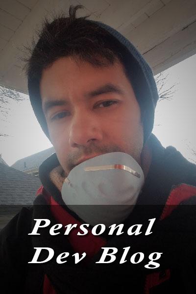 Gerardo personal blog cover