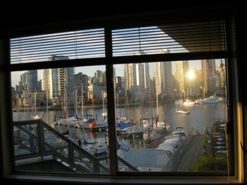 Vancouver vu de ma fenêtre