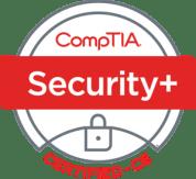 CompTIA Security+ badge